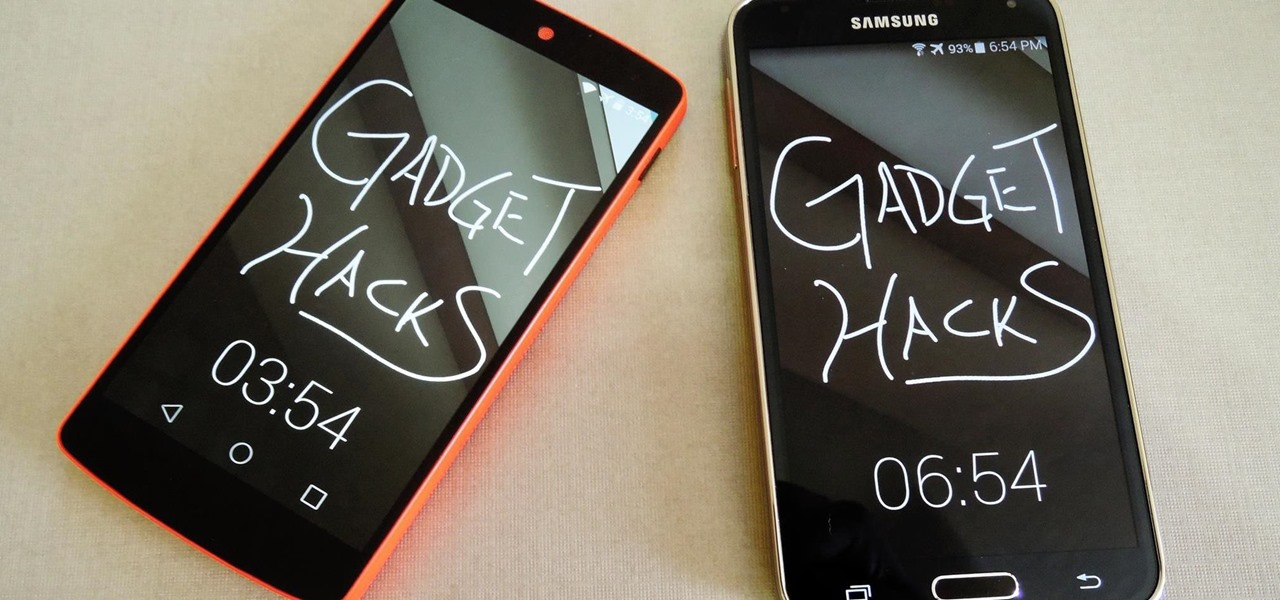 Draw & Send Messages to Your Friend's Lock Screen from Your Nexus 5