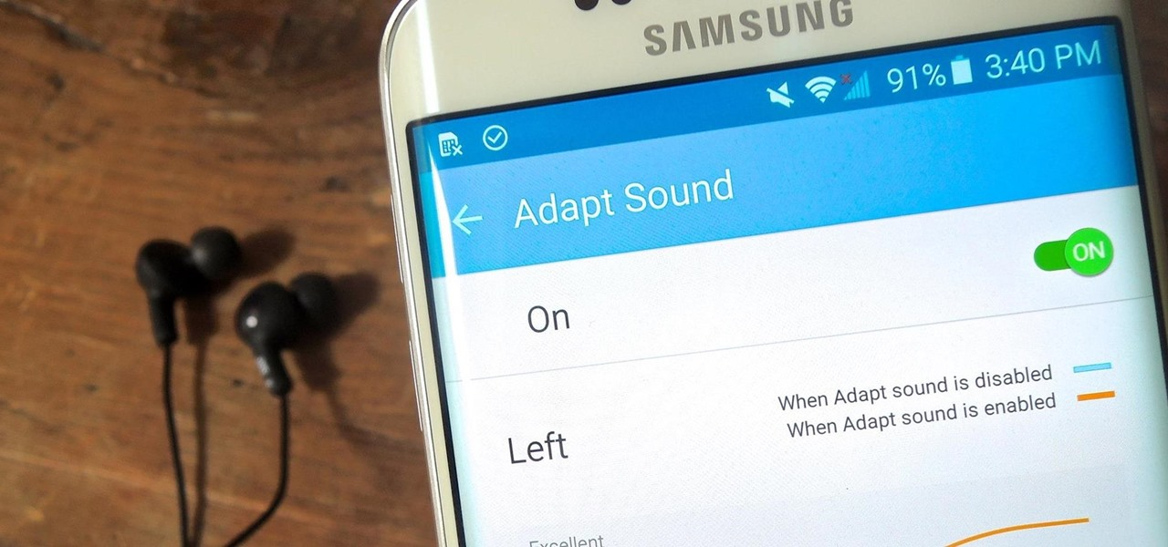 Personalize Sound Quality for Headphones on Your Galaxy S6
