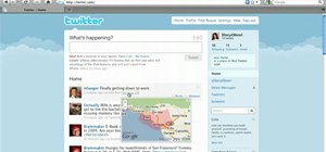 Automatically tag Twitter posts with your location