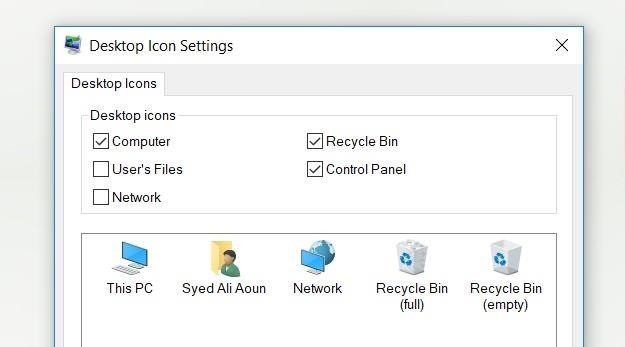 How to Show My Computer on Desktop in Windows 10