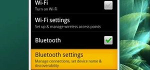 Manage Bluetooth on your Android phone