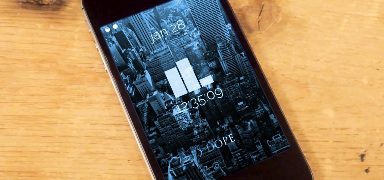 Theme the iOS 7 Lock Screen on Your iPhone with Sleek, Rising Time Bars