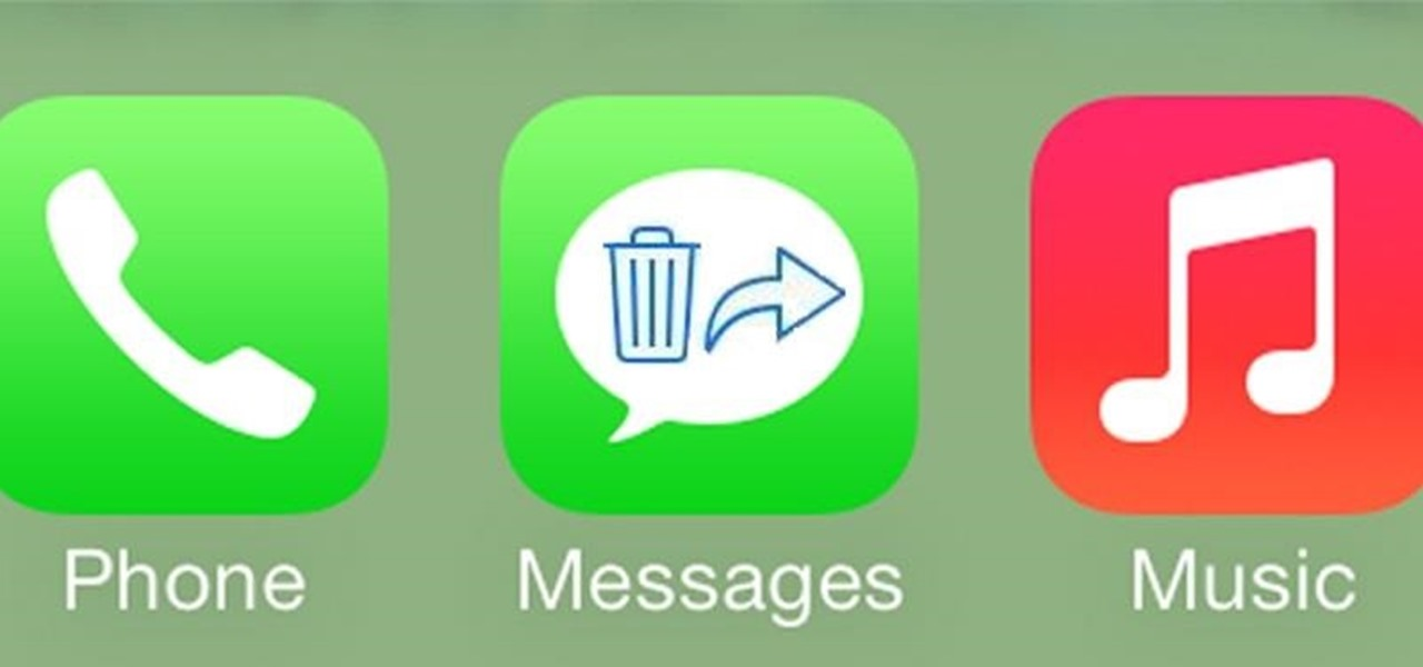Delete & Forward Individual Texts & iMessages from Conversations in iOS 7