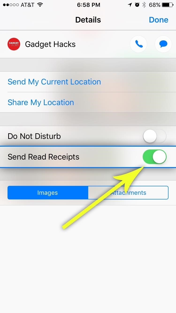 Messages 101: How to Turn iMessage Read Receipts On/Off Per Person