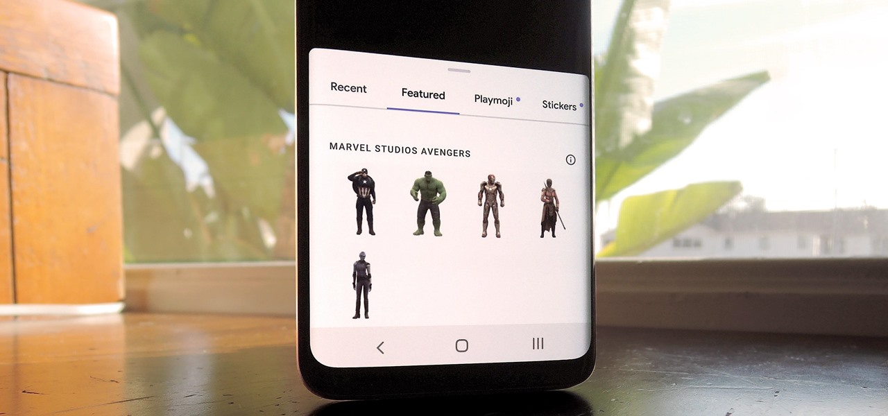 How to Get Google's Avengers AR Sticker Packs on Any Android