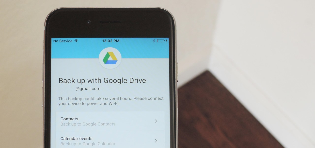 How do i transfer photos from iphone to google drive