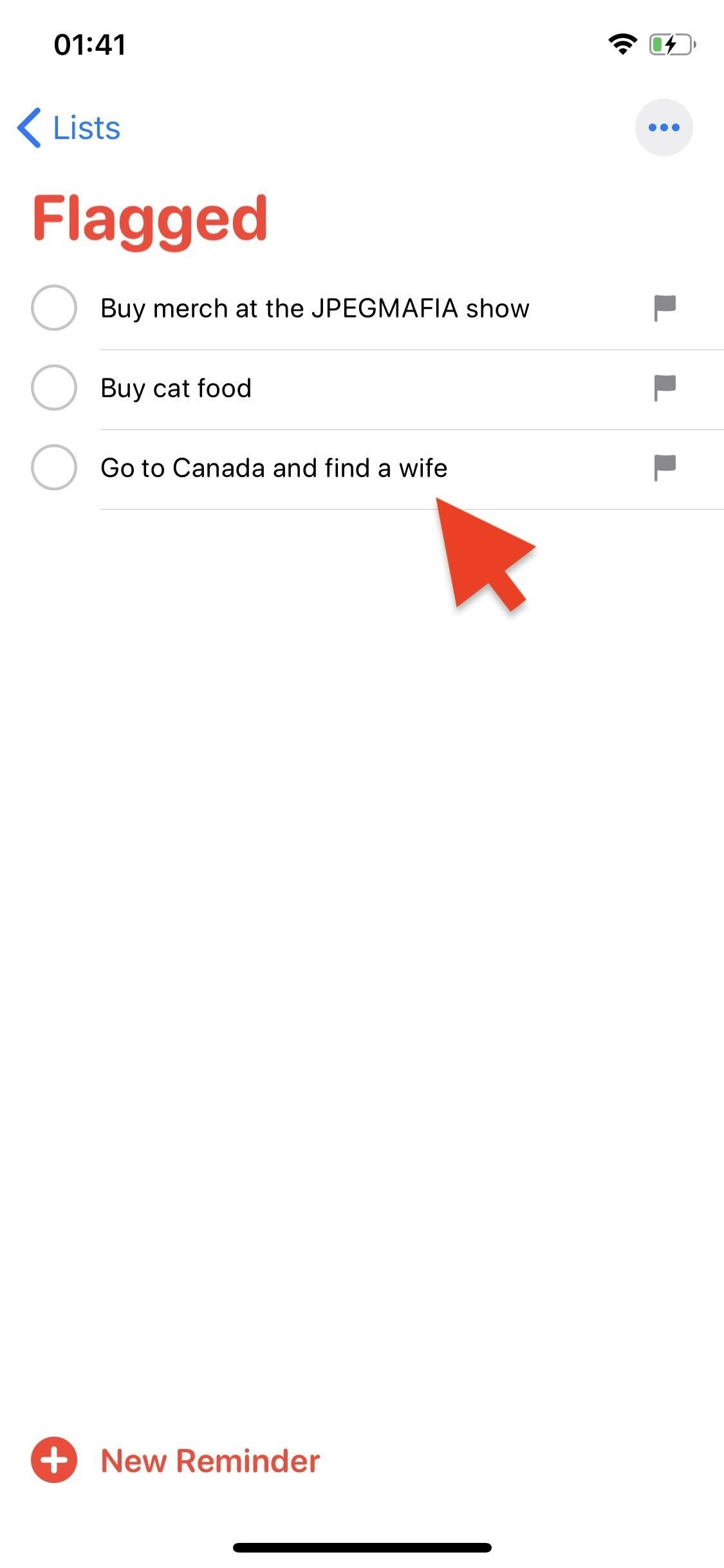 How to Flag Important Reminders in iOS 13 to Simplify Your Search