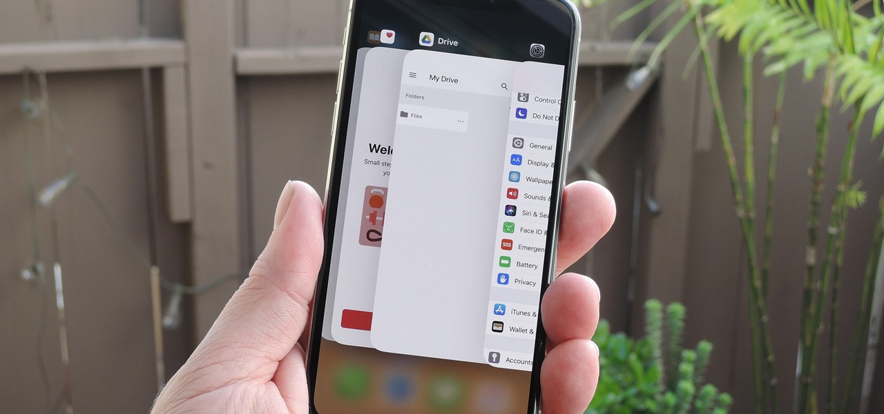 iOS 11.3 Makes Multitasking Faster on the iPhone X