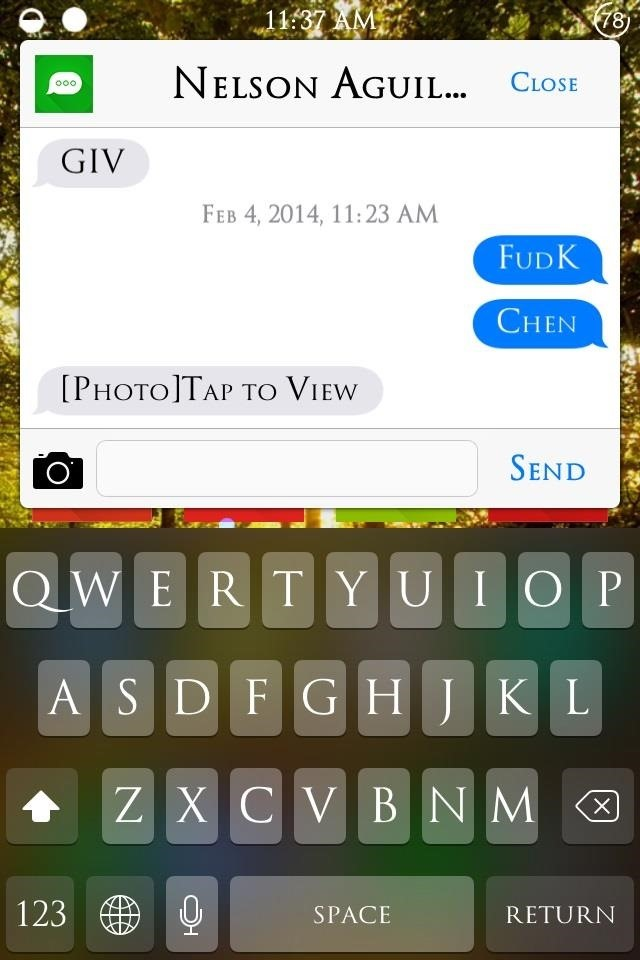 How to Quick Reply & Compose Text Messages Without Leaving the Current App on Your iPhone