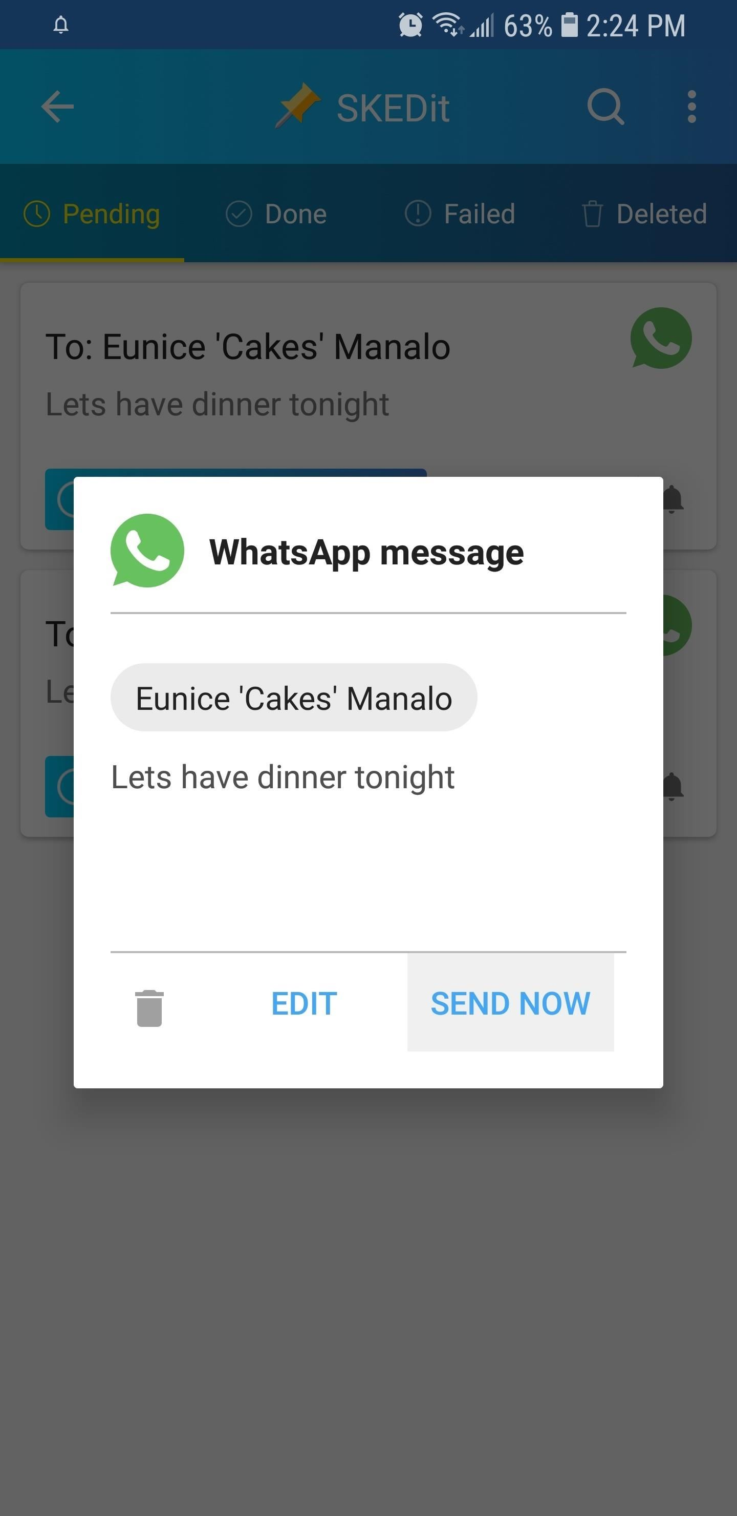 Hacking WhatsApp: How to Schedule Messages to Send Automatically