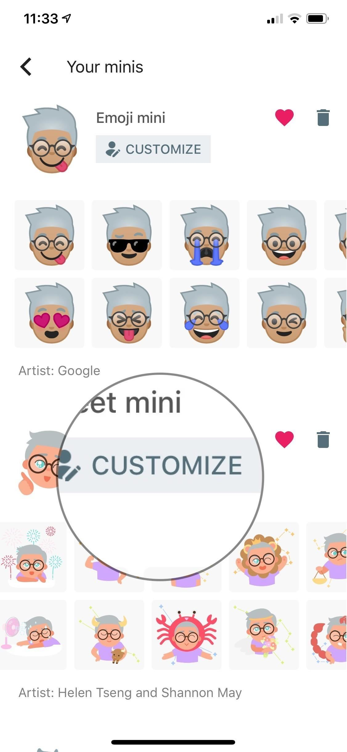Create Mini Emoji Style Stickers by Gboard for Android & iOS