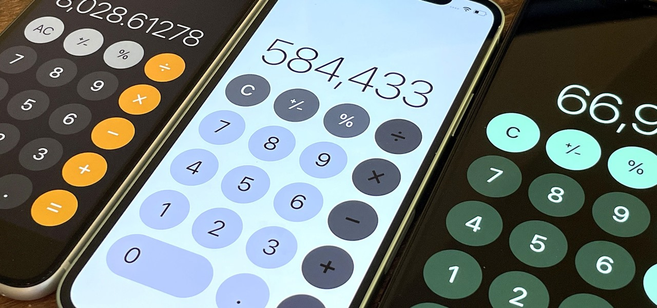 Update Your iPhone Calculator's Look with These Easy Color Mods