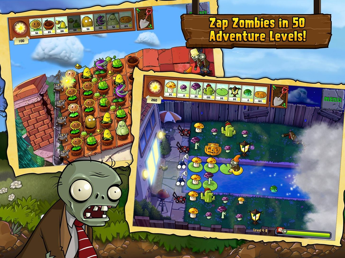 Deal Alert: Plants vs. Zombies Is Now Free in the iOS App Store Until the End of February
