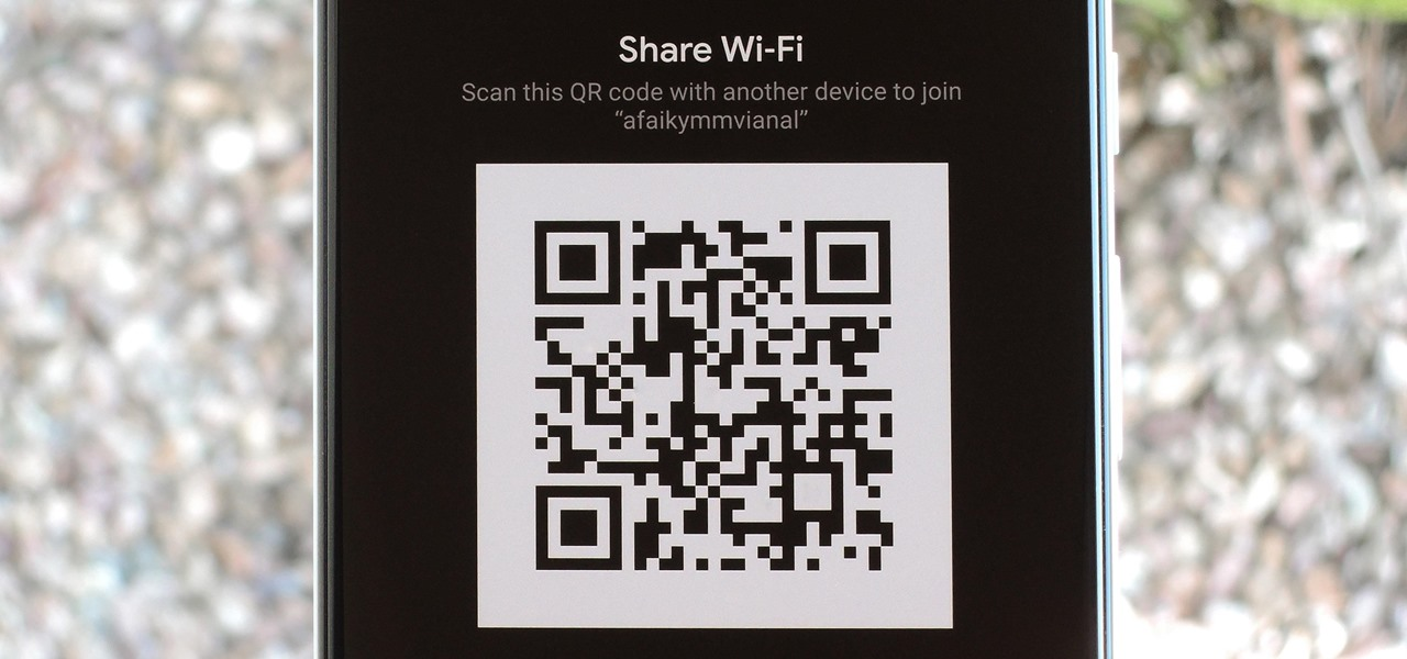 Share Your Wi-Fi Password with a QR Code in Android 10