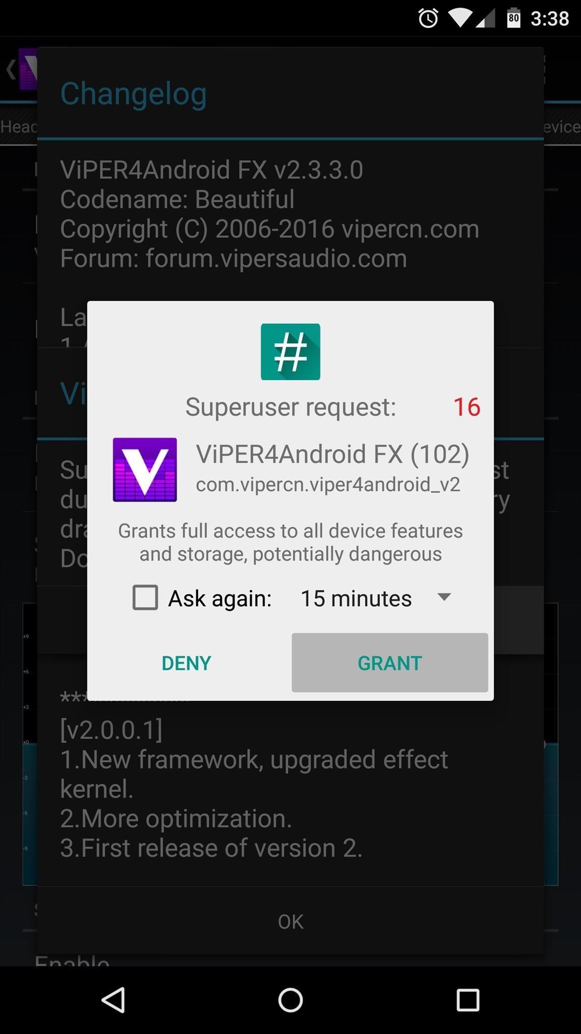 Boost Sound Quality on Your Nexus 6 with Viper Audio « Nexus