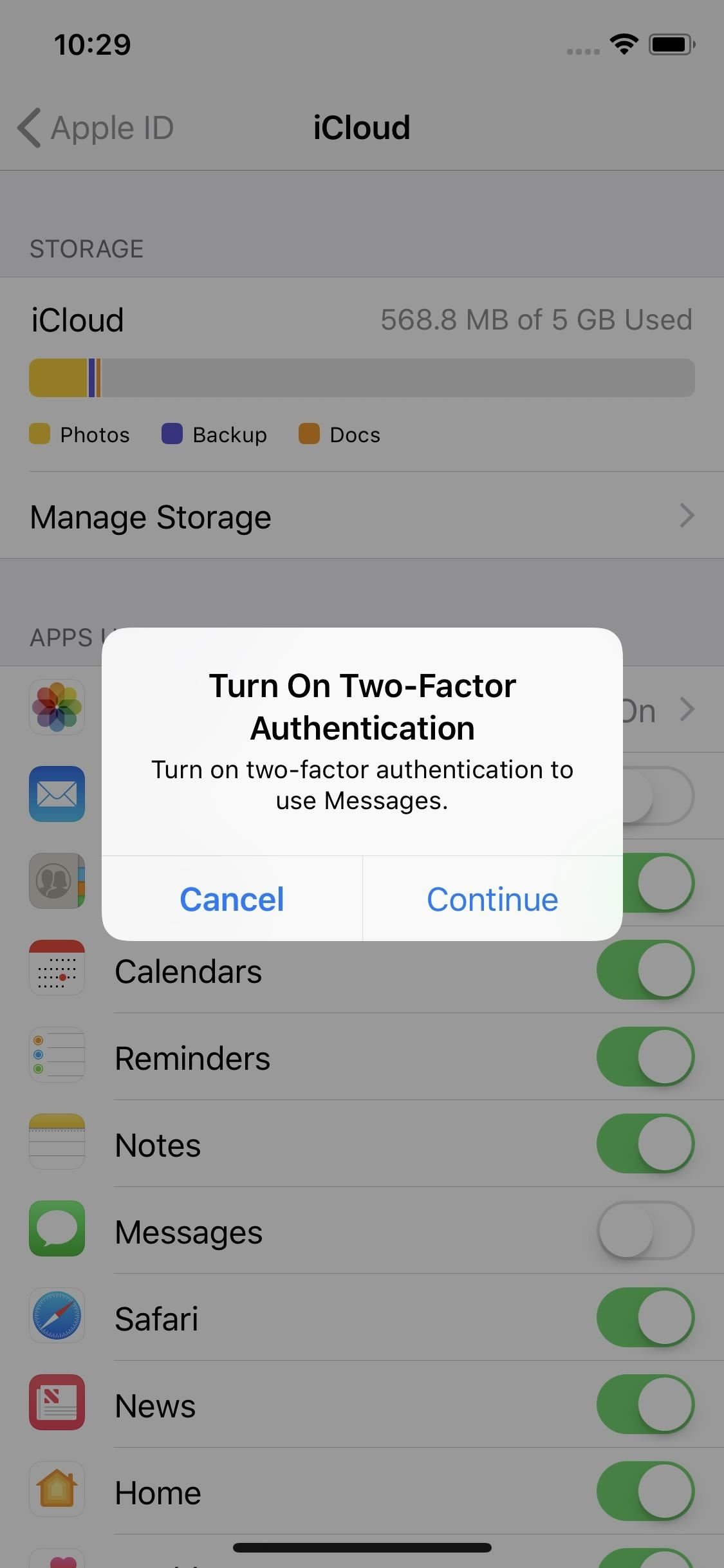 How to Sync All Your Messages with iCloud in iOS 11.3