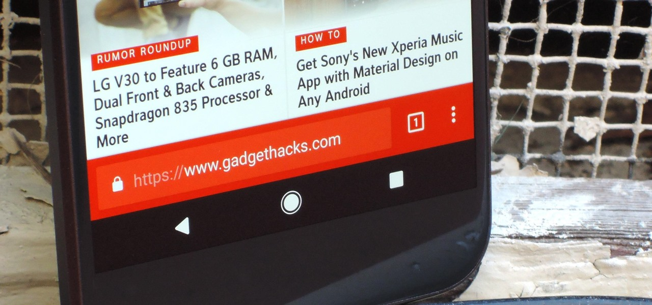 Move Chrome's Address Bar to the Bottom of Your Screen on Android