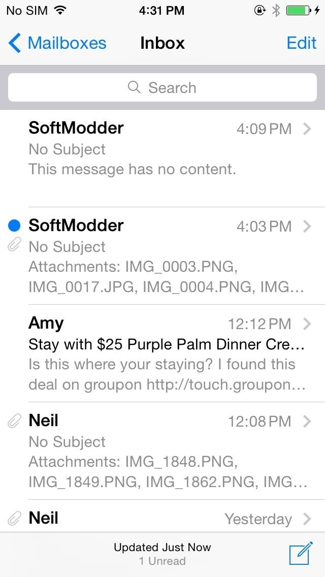 The Good & Bad About iOS 8's New Swipe Gestures in Mail for