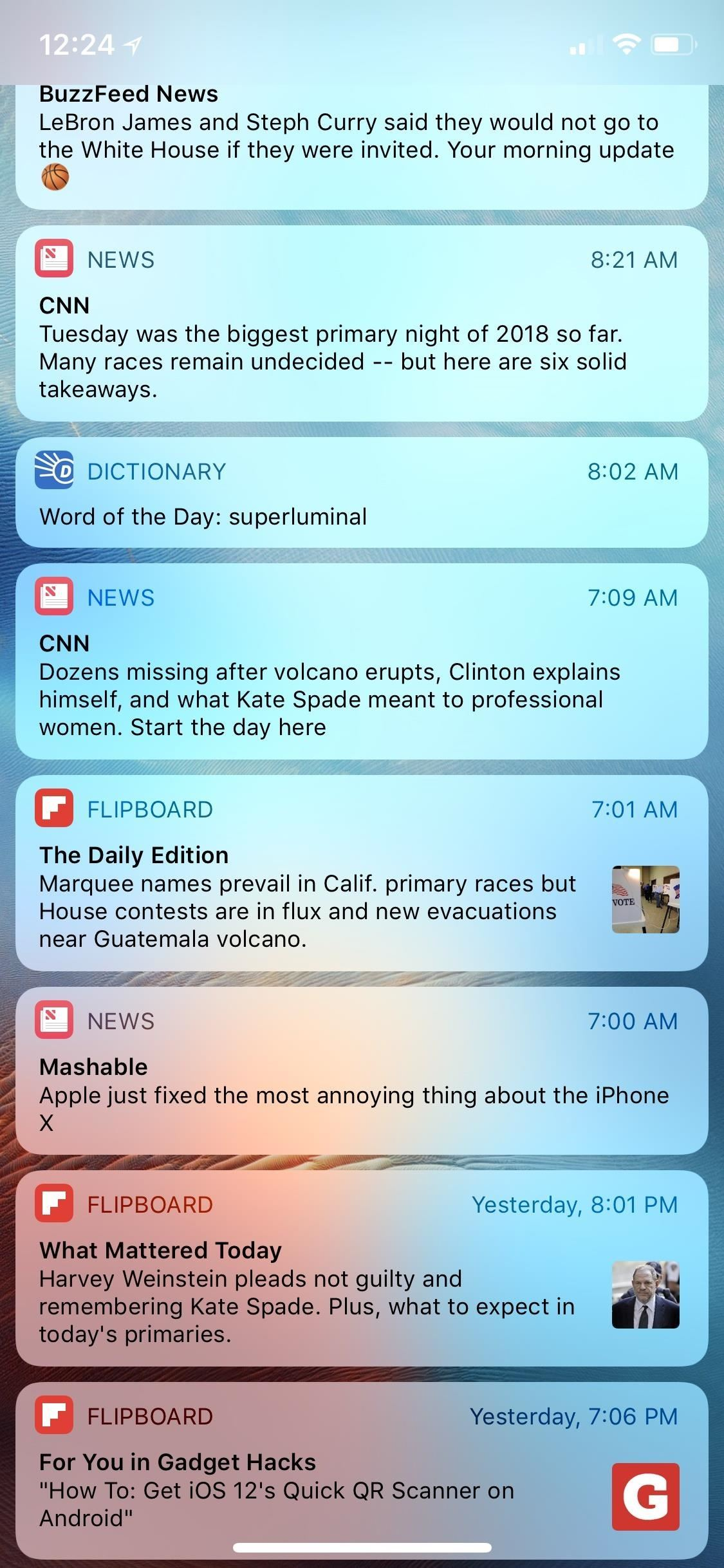 Grouped Notifications in iOS 12 Makes Browsing Alerts on Your iPhone Way Less Annoying