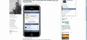 "Prevent ""Friend Check-Ins"" when using Facebook"