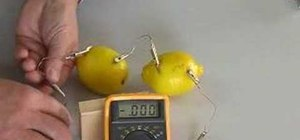 Make a simple lemon battery