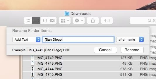 How to Rename Multiple Files at Once in Mac OS X Yosemite