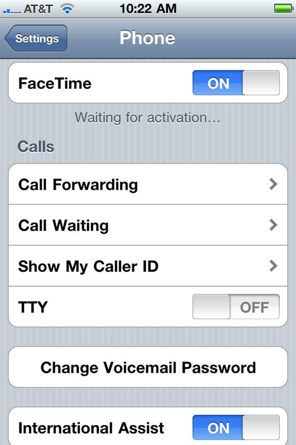 How to Fix the Missing FaceTime Video Call Feature on iPhone 4