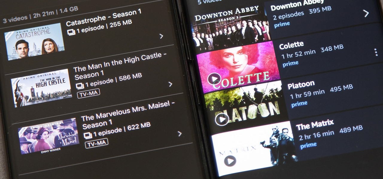 Download Movies & TV Shows on Amazon Prime Video for Offline Playback