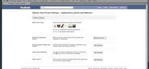 Change your Facebook Places privacy settings