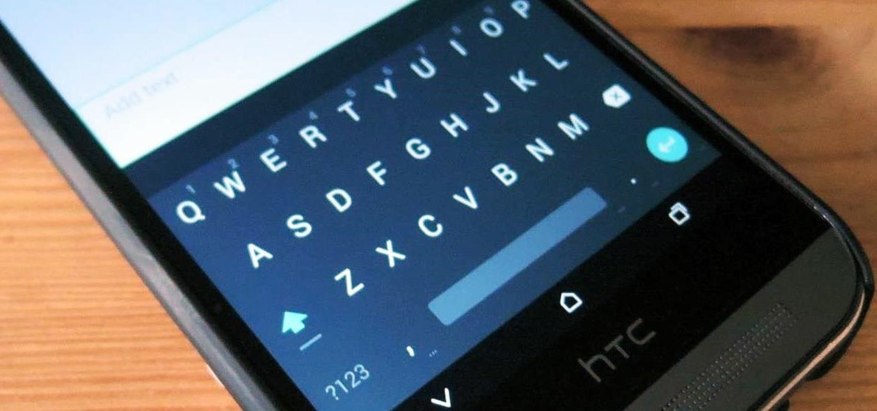 "Get Android's New ""L"" Keyboard on Your HTC One or Other Android Device"