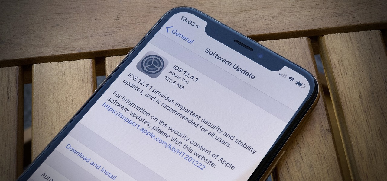 Apple Just Released iOS 12 4 1 for iPhone Fixes Jailbreak