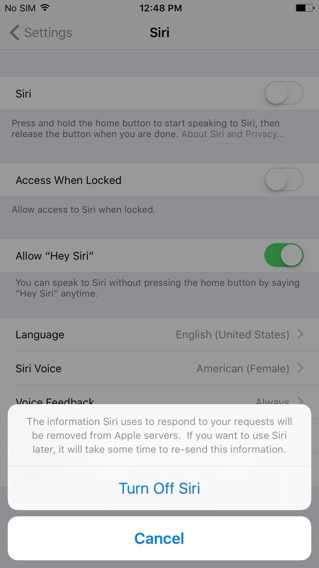 How to Completely Turn Off Siri on Your iPhone