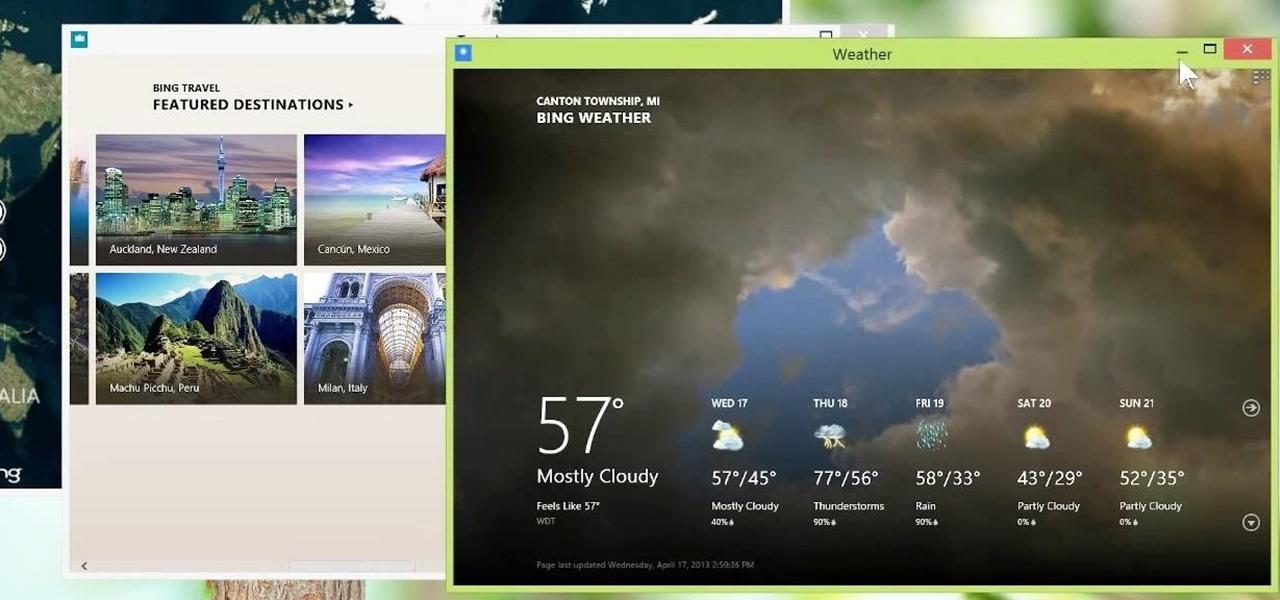 Use Metro Apps in Desktop View on Windows 8.1