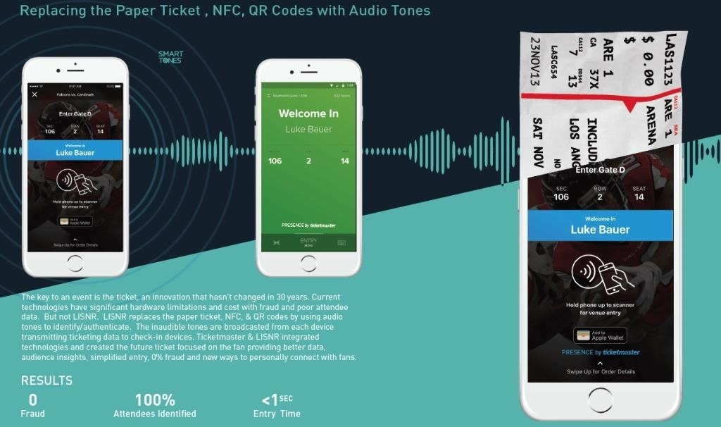 Get into Concerts with Ultrasonic Sounds from Your Smartphone, No Ticket Necessary