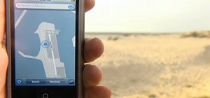 Find out your exact location with an Apple iPhone