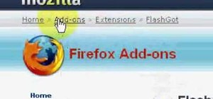 Install FlashGot and BitComet Download Manager