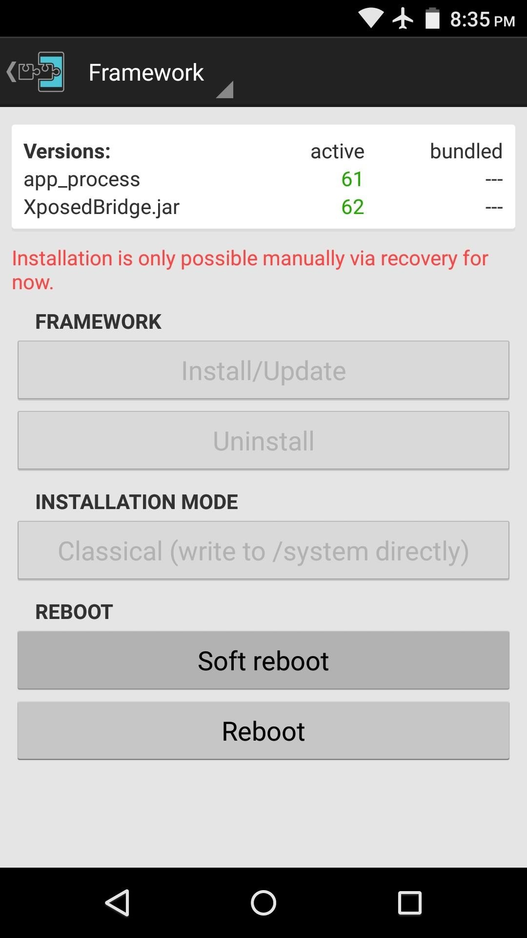 Android Basics: How to Activate a Newly-Installed Xposed Module