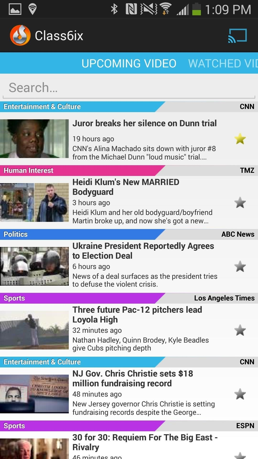 Cast Your Own Personalized News Station Pulled from Local & National Sources to Your TV