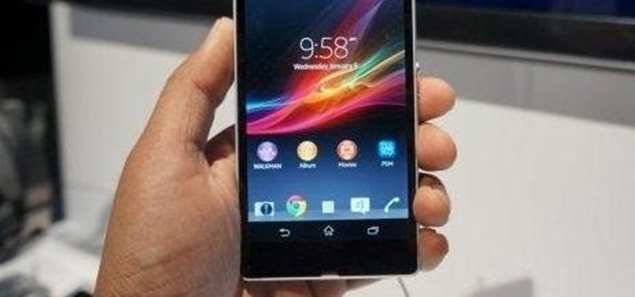 Root the New Sony Xperia Z Android Phone