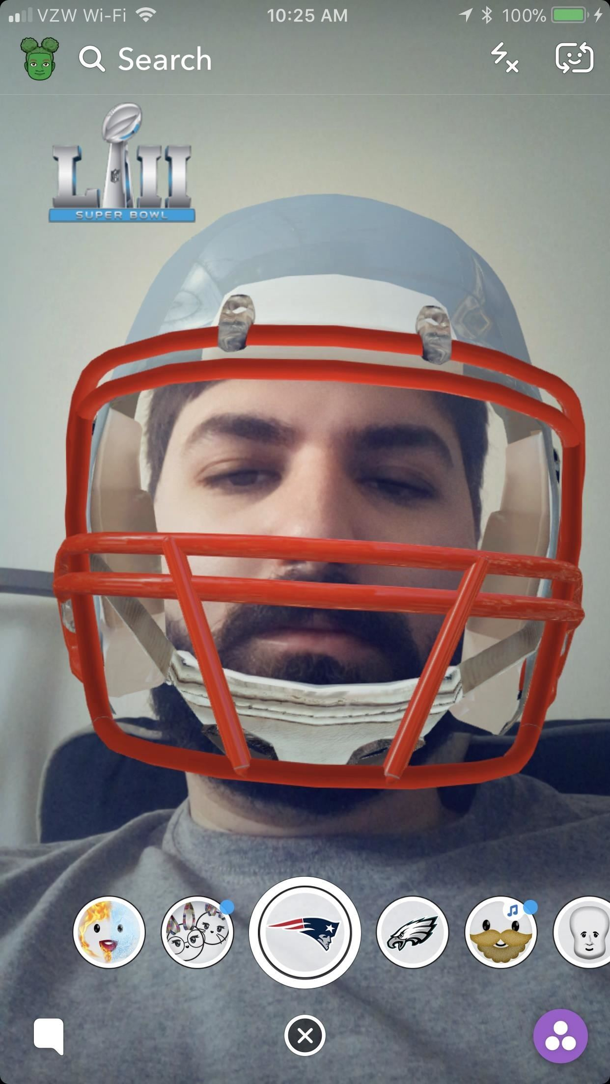 How to Get Snapchat's Super Bowl Filters & Show Your Eagles or Patriots Pride