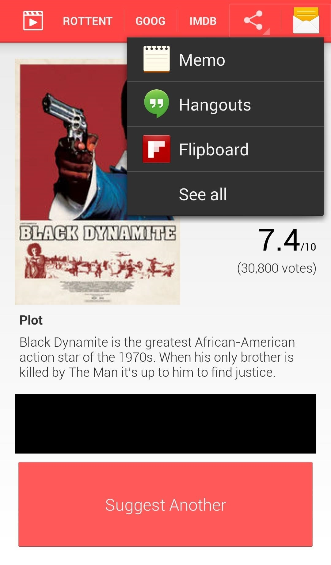 Suggest Movie for Android: A Simple Way to Search for Good Flicks