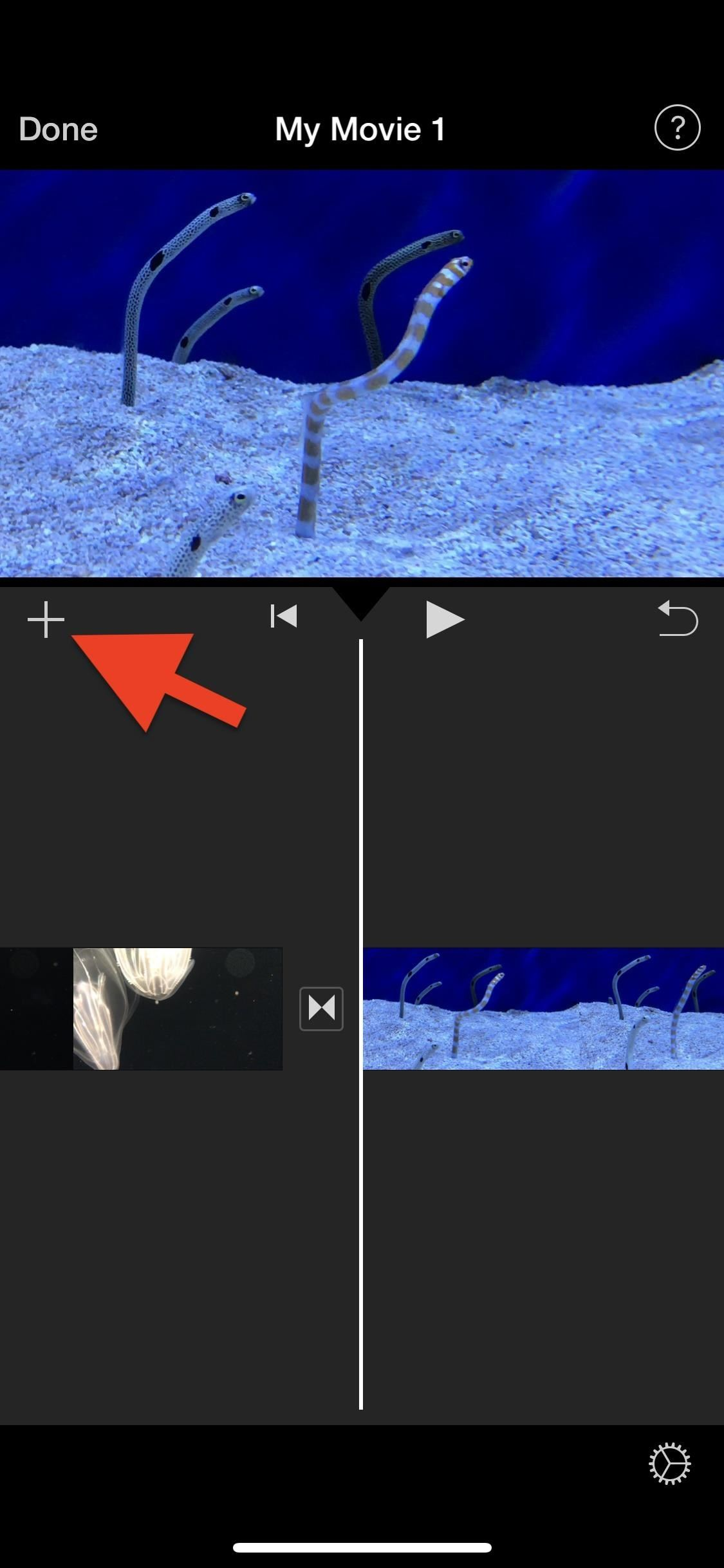 How to Add More Video Clips to iMovie Projects on Your iPhone