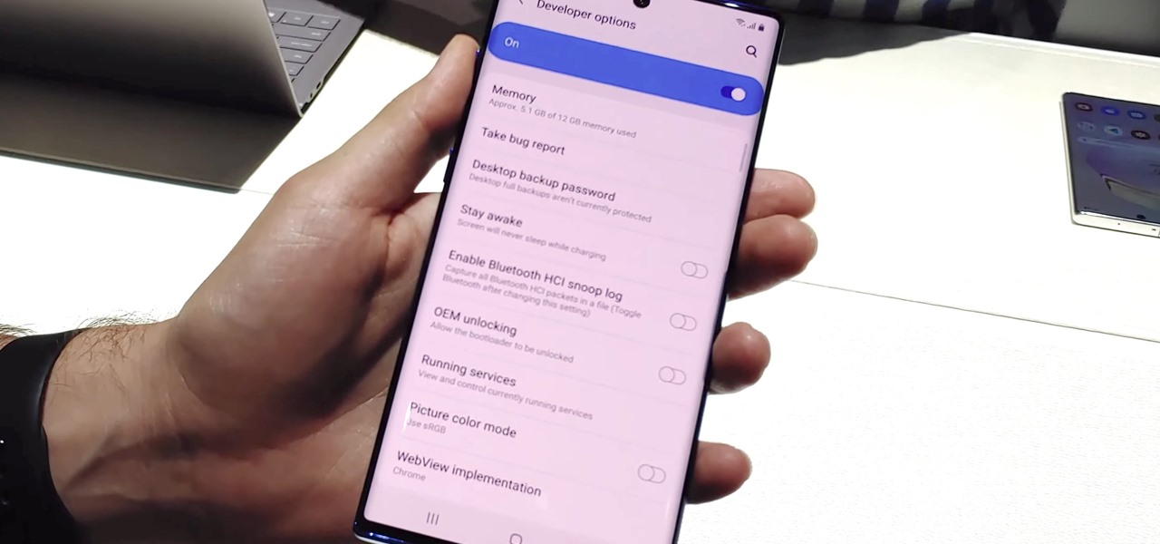 Activate Developer Options on Your Galaxy Note 10 or Note 10+