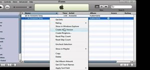 Make iPhone ringtones using iTunes on the PC
