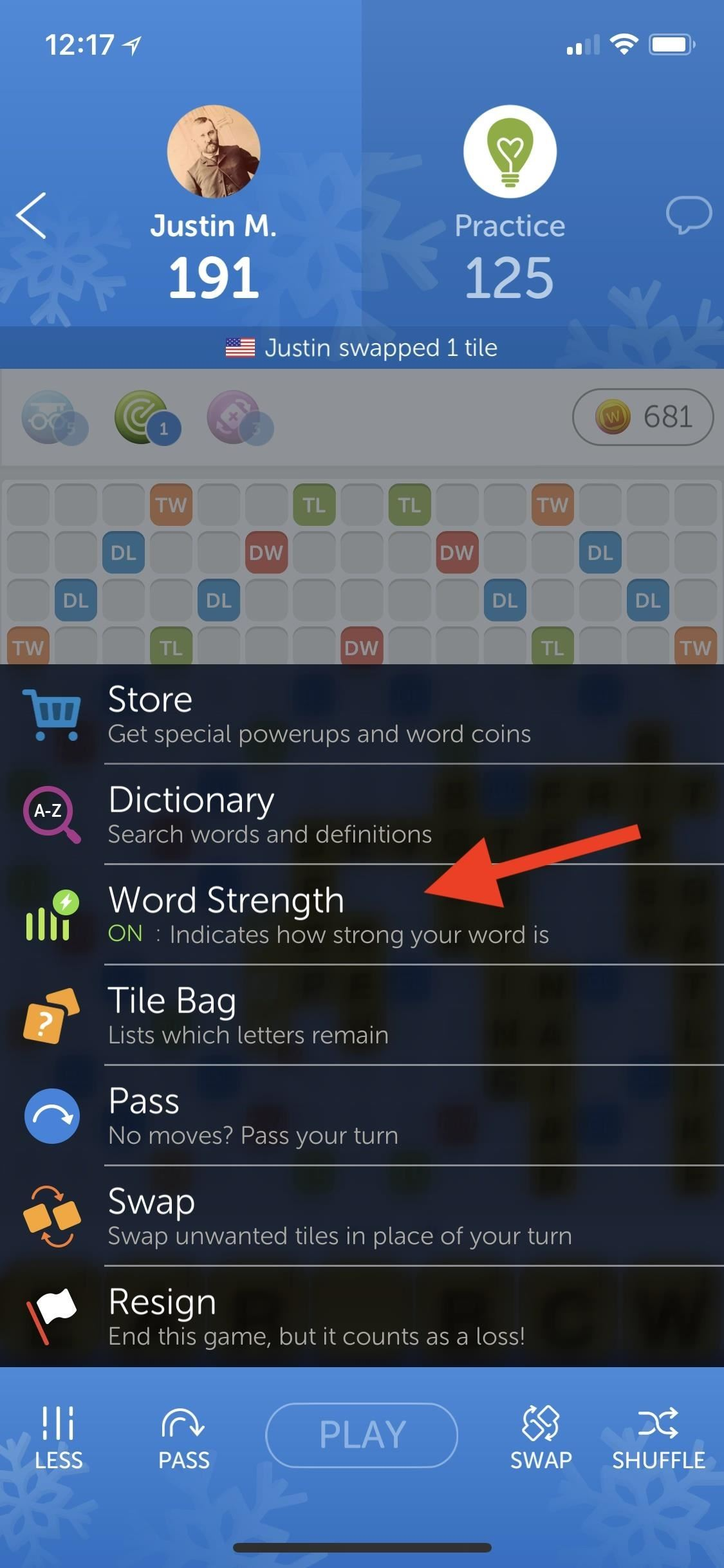 How to Use the Remaining Tiles Bag to Score Big in Words with