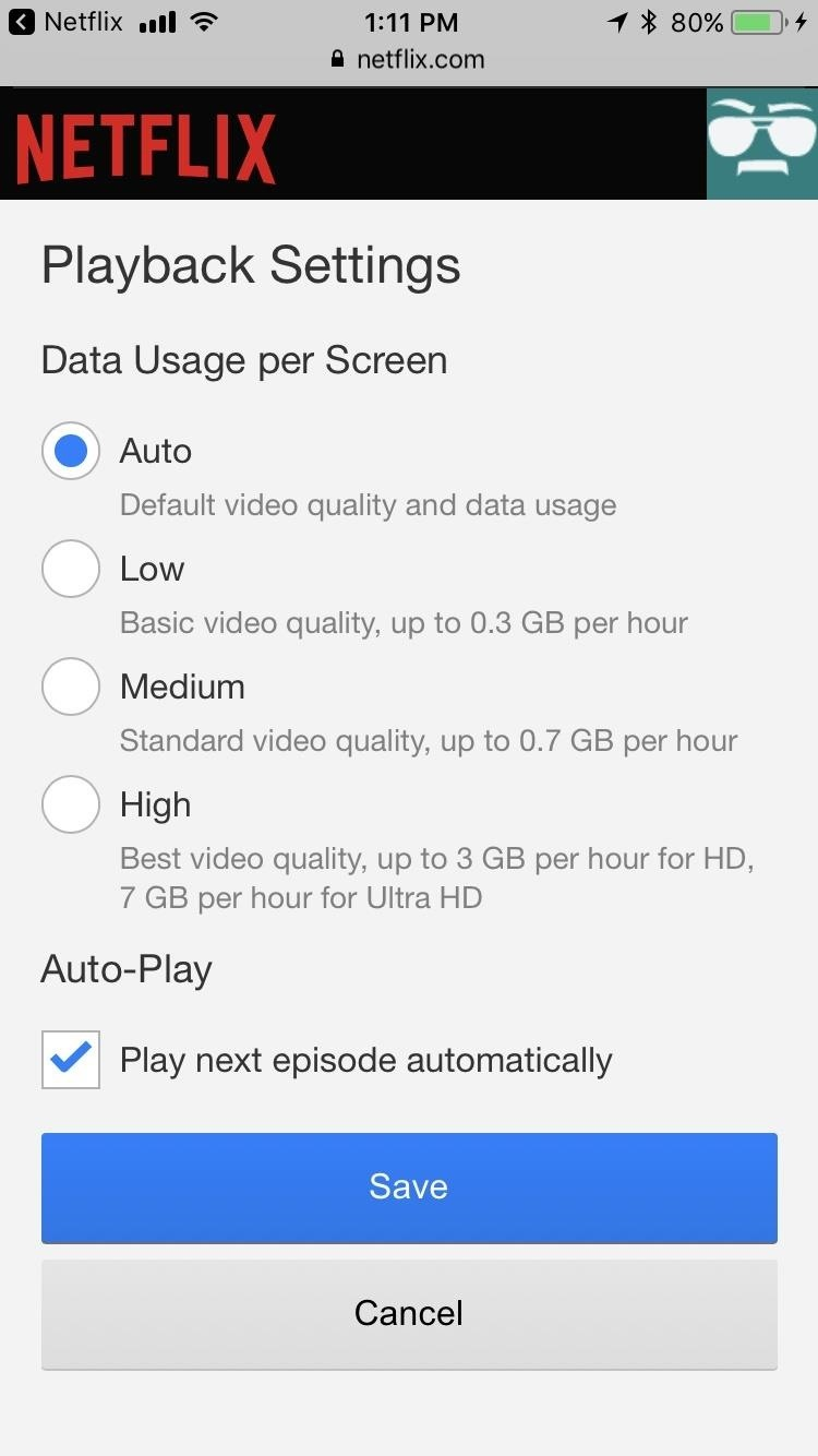 Stop Netflix from Eating Your Data While Streaming ...