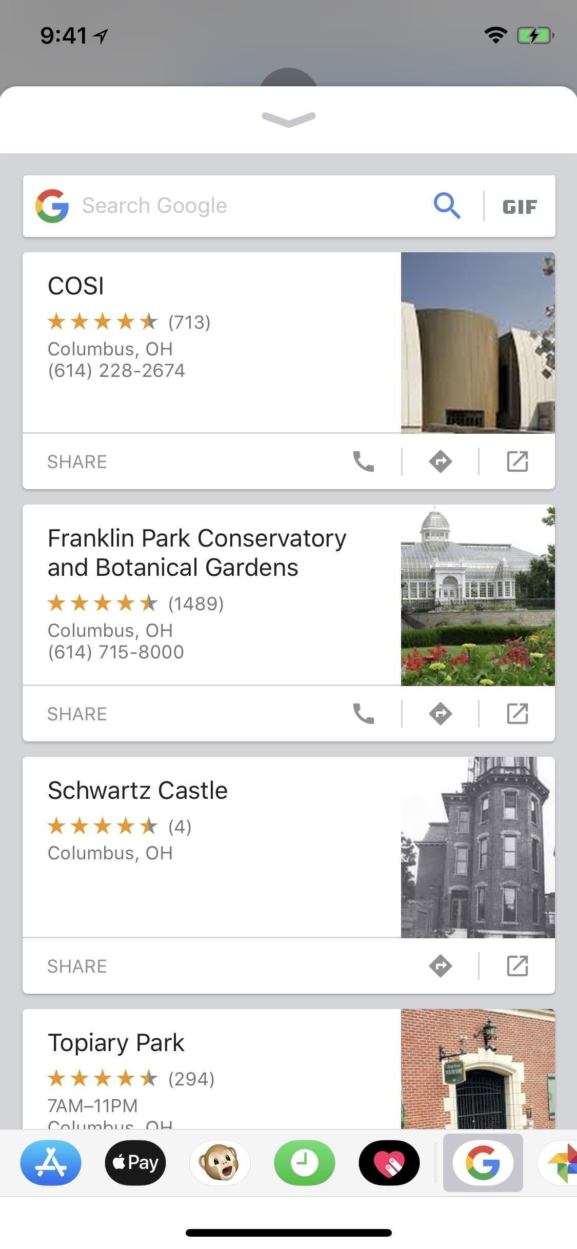 Messages 101: How to Search Google for Places, Videos & News to Share, Right from Your Conversations