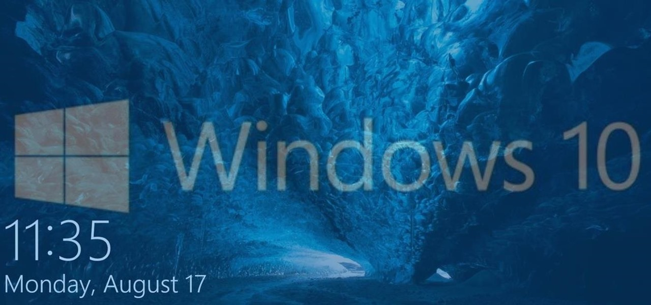Customize the Windows 10 Lock Screen