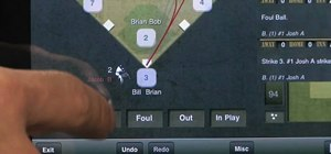 Score baseball games with ESPN iScore Baseball Scorekeeper for the iPad