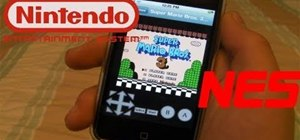 Install an NES emulator on an iPhone, iPod Touch or iPad